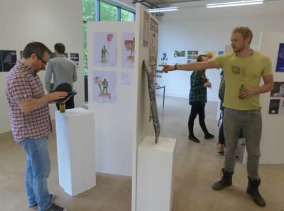 BA Graphics Second Year show 2014