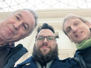 Staff visit the British Museum