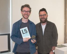 Tom Collins and Programme Leader David Wrenne